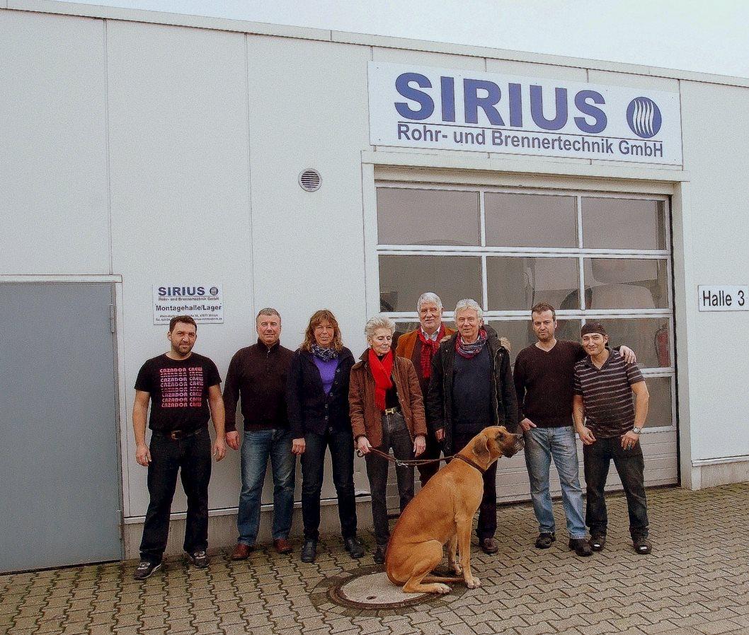 Das Team von Sirius Rohrtechnik