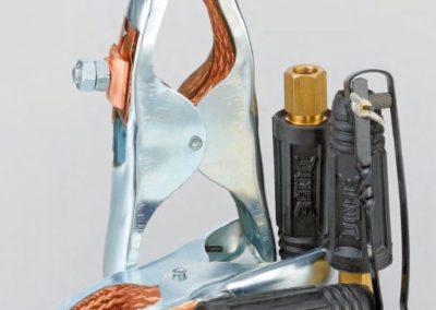 Klemmen, Elektrodenhalter